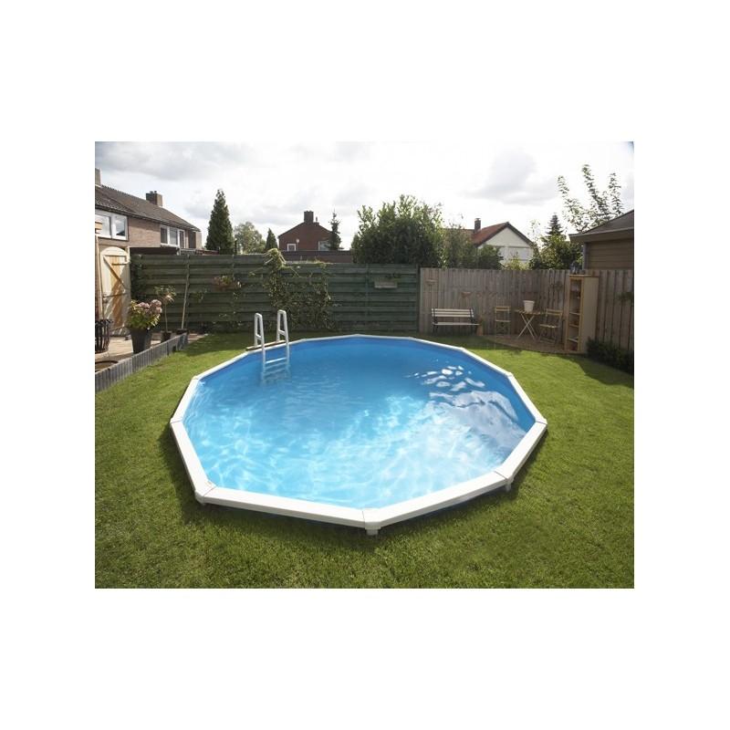 Zwembad rond 460cm x 135cm hoog geleverd met zandfilter - Ontwikkeling rond een zwembad ...