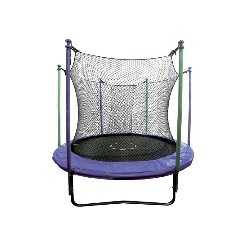 trampoline rond 305 cm mps compleet met veiligheidsnet. Black Bedroom Furniture Sets. Home Design Ideas