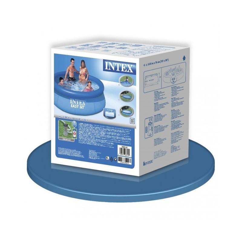 Intex easy set rond 244cm x 76cm hoog - Service hoog ...