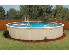 Zwembad Rond 550CM x 135 CM hoog, geleverd met zandfilter