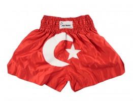 Kickbox broekje Turkse vlag