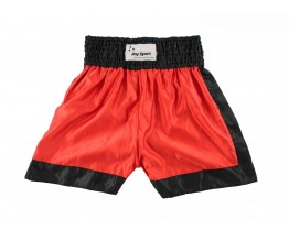 Kickbox broekje Rood Zwart