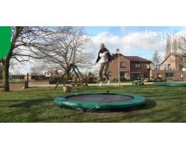 Inground Etan Premium Gold 08 trampoline 2,50m groen (Gratis Thuisbezorgd)