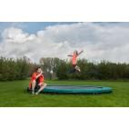 Inground Etan Premium Gold 11 trampoline 3,30m groen (Gratis Thuisbezorgd